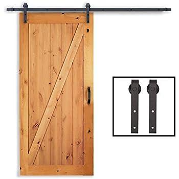 Amazon Com Yaheetech 8ft Sliding Barn Door Hardware Kit