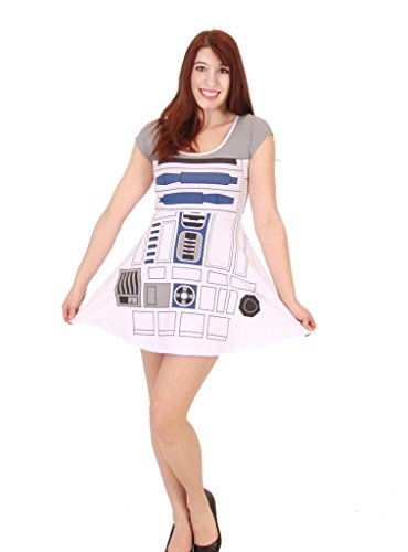 Star Wars R2D2 Skater Dress - M ()