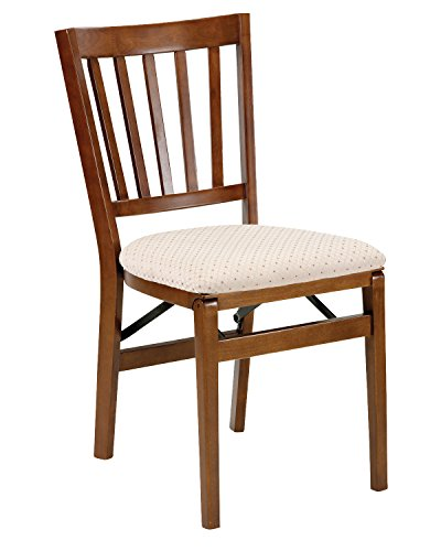 Stakmore School House Folding Chair Finish, Set of 2, Fruitwood ()