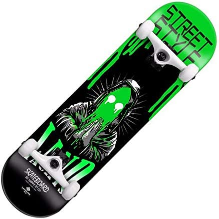 Lklmy スクーター、プロ用4輪スケートボード、競技アクション、大人用、ダブルカーブメープルスケートボード lklmy (Style : 3)