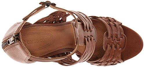 Twilight Como Dress Mid Women's Brown Sandal Corso 0zqgEx70