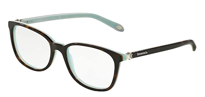 6461d5e3d6ad Image Unavailable. Image not available for. Color  Eyeglasses Tiffany TF  2109HB 8134 HAVANA BLUE