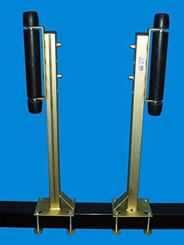 (VeVe Inc. T-923-G; Pontoon Trailer Roller Guide-On, 1 Pair (Galvanized Finish))