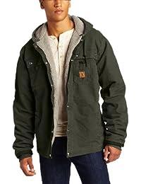 Carhartt Men's Big & Tall Sherpa Lined Sandstone Hooded...