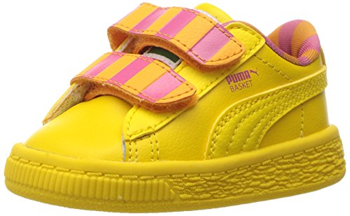 Galleon - PUMA Girls  Sesame Str Basket Big Bird Mono V Inf Sneaker ... 324893ca3