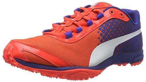 Puma Evospeed Haraka V3 Wn - Zapatillas de Entrenamiento Mujer Rojo - Rot (Red blast-Royal Blue-puma White 01)