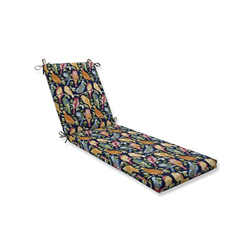Pillow Perfect Outdoor/Indoor Ash Hill Multi Chaise Lounge Cushion 80x23x3