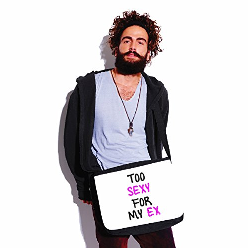 Tracolla Per Troppo Idea In Mio Cm Sexy Bianco 5 Bubbleshirt Poliestere Regalo Il Ex For My Borsa Too Dimensioni A 35x30x11 BznqwEAx1