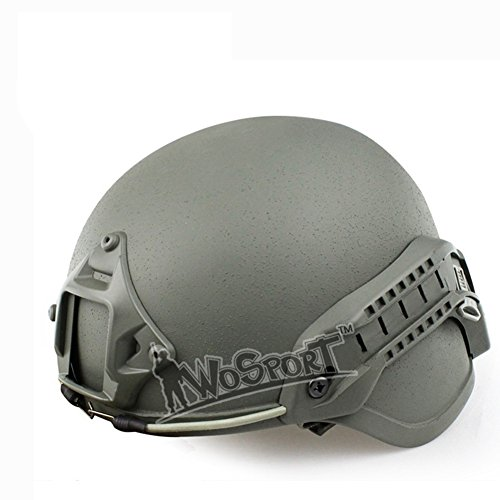 Oarea MICH 2000 Advanced Sport Action Military Airsoft Ear Protection Helmet with...