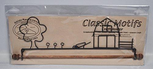 Classic Motifs 12 Inch Farm Yard Fabric Holder - Ackfeld Fabric Holder