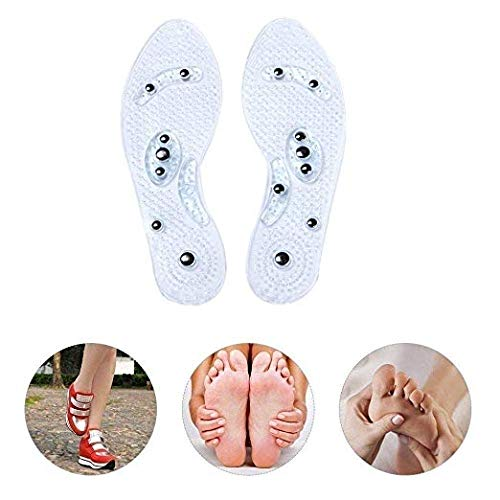 Anti-Odor Acupressure Shoe Copper Magnetic Massage Insoles for men and women