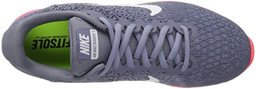 Max Sequent Sky solar Red Air Dark Running Blue thunder NIKE Blue Gris Femme 2 White 5qE8nx7WT