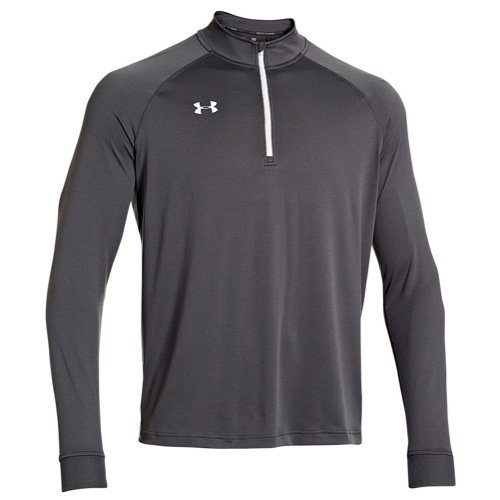 Under Armour Men's Every Team Armour Tech 1/4 Zip (Charcoal, - Pullover Zip Quarter