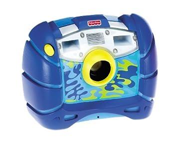 amazon com fisher price kid tough waterproof digital camera blue rh amazon com Fisher-Price Official Website Camera Pink Fisher-Price