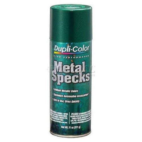 Dupli-Color Metal Flake Paint Shimmering Green 11 Oz. Aerosol - Lot of 6