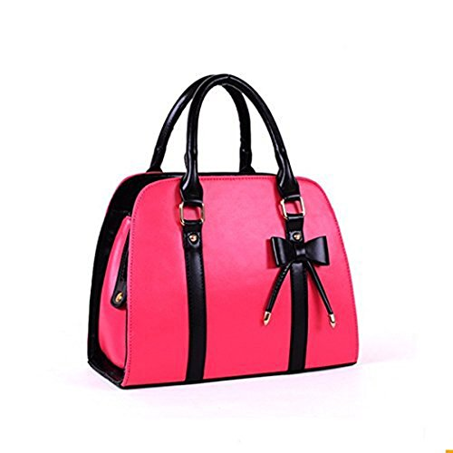 Hot Womens Vintage Hobo Messenger Handbag Shoulder Bag Tote with Bow Bow