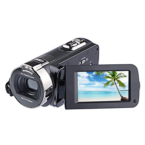 "PowerLead 2.7"" LCD Screen Digital Video Camcorder 24MP Digital Camera by GordVE"