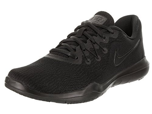 (Nike Women's Flex Supreme Tr 6 Black/Black/Anthracite Training Shoe 8.5 Women US)