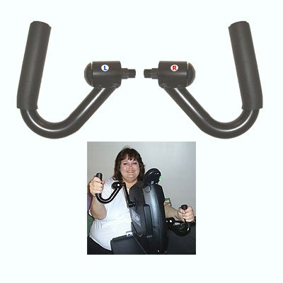 Pedal Hand - Ergonomic Hand Pedals for the MagneTrainer Pedal Exerciser