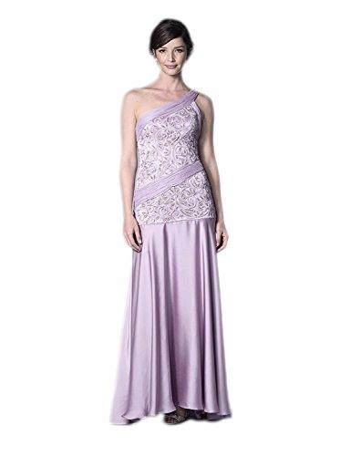 Sue Wong Women's Long Dress, Lavender, 10 US