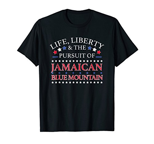 Funny Jamaican Blue Mountain Shirt - Novelty Coffee Gift