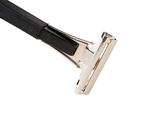 Shave Classic Single Edge Razor Handle with 1 Ct. Schick Injector Razor Blade Refill ! Razor Compatible with Schick Injector Razor Blades ! Better Than Hydro , Intuition