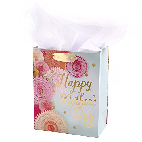 Hallmark Medium Mother's Day Gift Bag with Tissue Paper (Floral (Floral Medium Gift Bag)