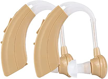Sound Amplifier,Ear-Back Hearing Aid for Hearing Enhancement Noise Reduction Hearing Amplifier for The Elderly and Adult,Easy to Use