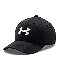 Under Armour Boys' Blitzing 2.0 Cap, Black (001), X-Small/Small