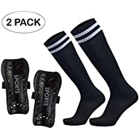 GeekSport Soccer Shin Guards - Youth Sizes Soccer Shin...