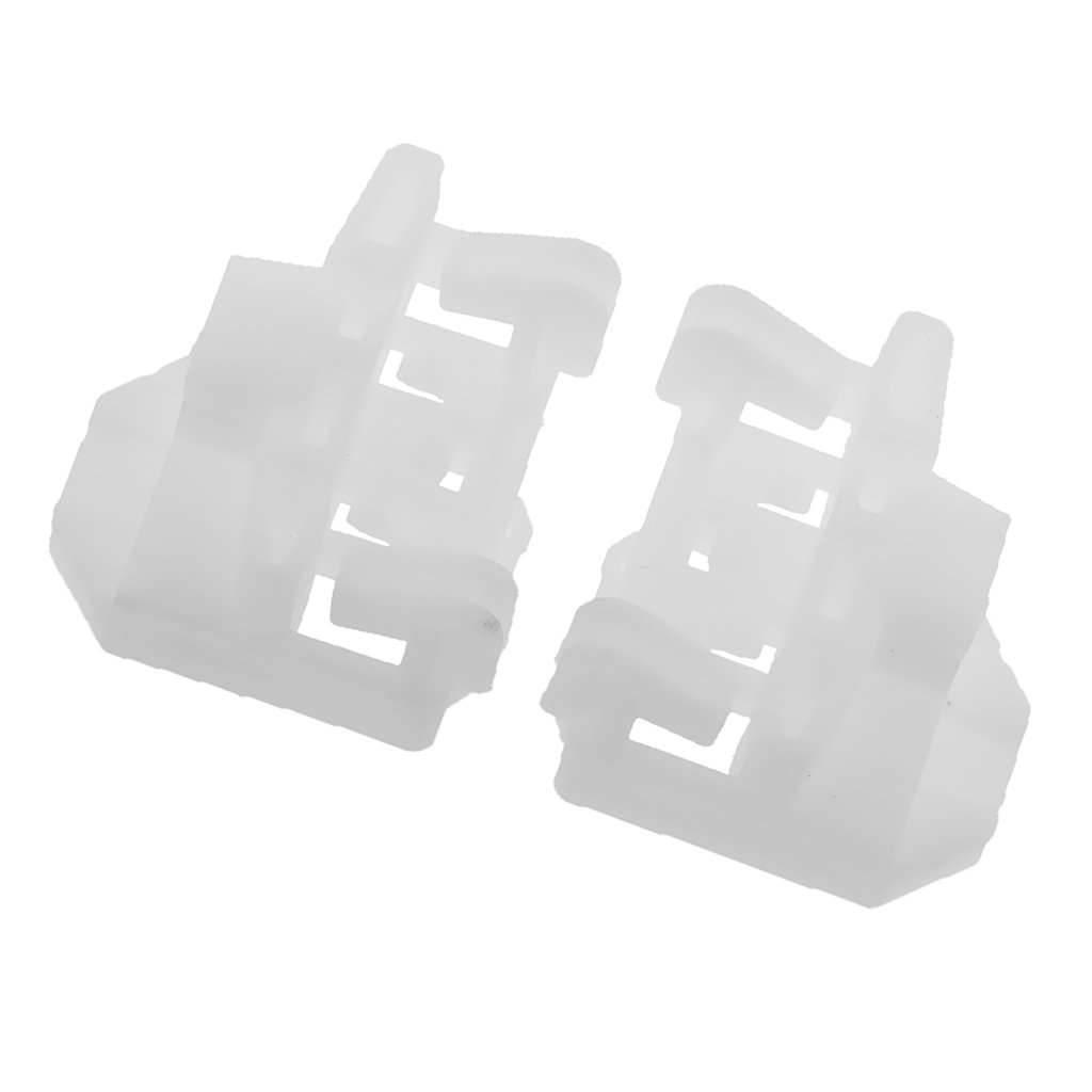 MonkeyJack 2pcs Car Window Regulator Clips Front Left & Right for VW Passat B5 96-05
