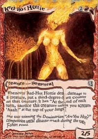 Magic: the Gathering - Red-Hot Hottie - Unhinged - Foil