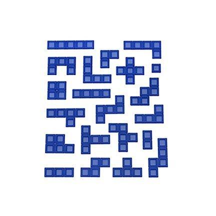 Blokus Game Replacement Parts ~ 21 BLUE PIECES