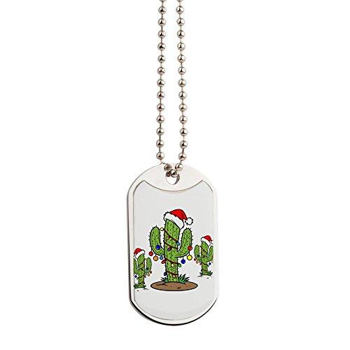 Arizona Epoxy - CafePress - Funny Arizona Christmas - Military Style Dog Tag, Stainless Steel with Chain