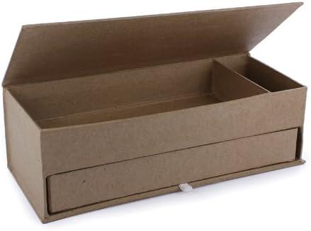 La Fourmi 210 x 85 x 68 mm de cartón Estuche con 2 Compartimentos: Amazon.es: Hogar