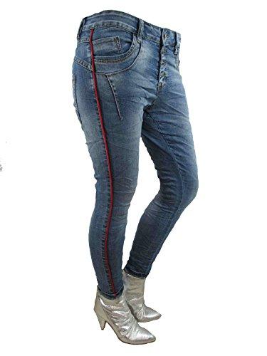 Denim Boyfriend Jeans by Femme Lexxury Jewelly Axqz7688