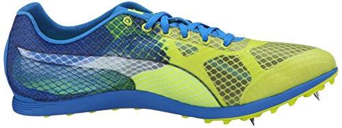 PUMA Männer Evospeed Crossfox V3 Trail Runner Sicherheit Gelb / Electric Blue Limonade / Peacoat