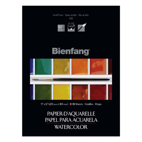 Bienfang Canvas (Bienfang Paper Pre-Primed Canvasette Panel - 12 x 16 inches - Pack of 10)
