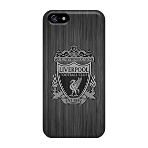Ultra Slim Fit Hard Phonecaselyp Case Cover Specially Made For Iphone 5/5s- Liverpool Fc Iphone4