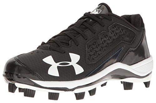 Armour Under Ignite Shoe TPU Black Black Baseball Men's Low ddwxEr1