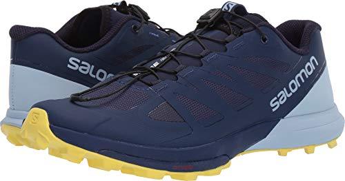 c84fd5855a24 Salomon Sense Pro 3 Womens Trail Running Shoes Patriot Blue/Cashmere  Blue/Aurora Sz 7.5