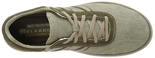 Skechers Landen Morse, Herren Sneakers Taupe