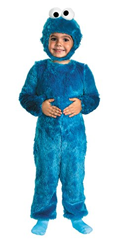 Cookie Monster Comfy Fur Toddler Costume - Toddler Small ()