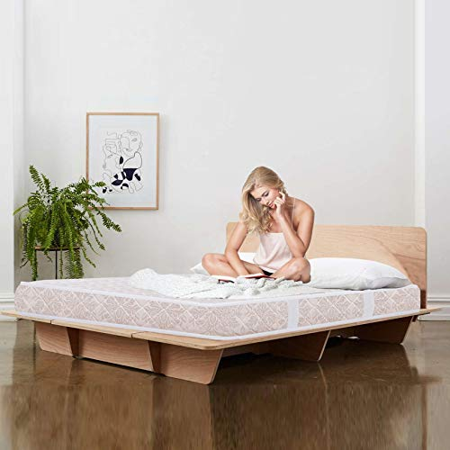 Coirfit 6 inch Ortho Bonnell Spring Single Size Mattress  White, 72x36x6 , with 7 Years Warranty