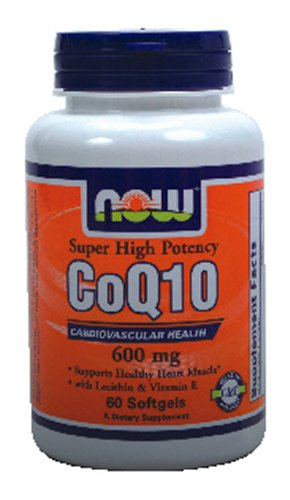 Now Foods CoQ10 600 mg - 60 Softgels ( Multi-Pack)