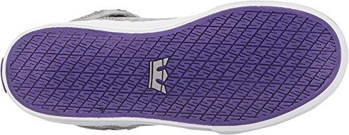 Supra Mens Skytop III Shoes Light Grey/Purple/White BvNZ98kC