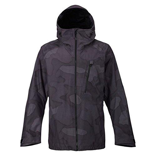 Burton Men's AK 2L Cyclic Jacket, True Black/True Black Hombre Camo, Medium