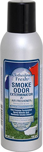 Tobacco Outlet Products Clothesline Fresh Smoke Odor Exterminator 7oz