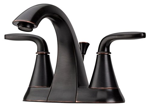 sadena 2 Handle 4 Inch Centerset Bathroom Faucet in Tuscan Bronze ()