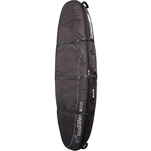 OCEAN & EARTH DOUBLE COFFFIN SHORTBOARD COVER 6'6'' BLK/GREY by Ocean & Earth
